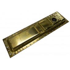 Бак радіатора Т-150 нижній (латунь)