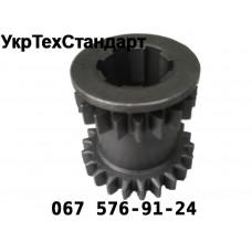 Шестерня КПП Т-16 ведуча 2 і 3 передачі (z = 19/22)
